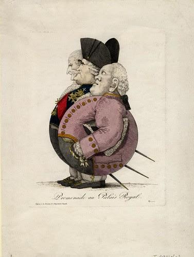 Promenade au Palais Royal (by 'G', 1814)