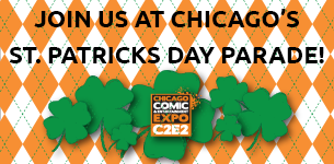 Join us at Chicago's St. Patricks Day Parade!