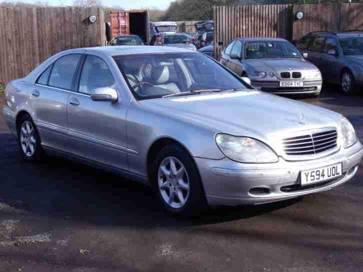 Mercedes S500 V8 Automatic 2001 Y Reg Long Mot Full ...