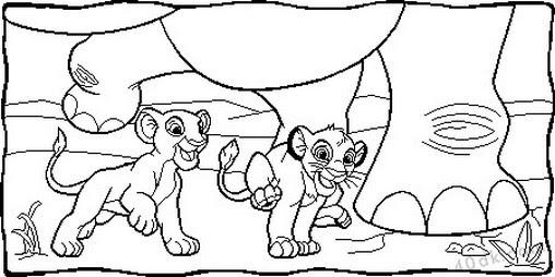 Aslan Kral Boyama Sayfası 82 40dk Eğitim Bilim Kültür Sanat