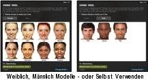 Frisuren Testencom Laden Sie Ihr Foto Virtuelle Frisuren