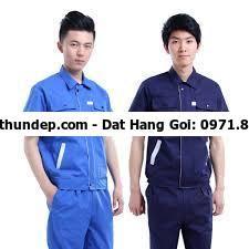 Quần áo bảo hộ lao động giá rẻ từ 65000 - 450000/bộ, Chiết khấu 10%  Mỗi công ty đều chọn cho mình một loại đồn,g phục bảo hộ