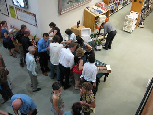 Ted Egan's book launch at NTL