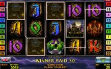 Get wild with the Wild Stars video slot from the best casino developer.3 Wild Stars on 1 reel will give a free respin.Play Wild Stars for free and online with 10 winning lines and very fast gameplay.Win credits with 5 sevens on winning line.