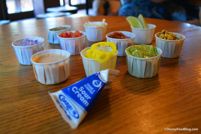 All Of The Toppings From The Toppings Bar