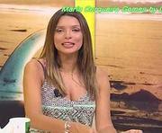 Maria Cerqueira Gomes sexy no Olá Maria