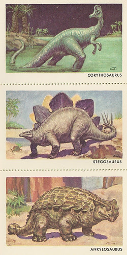 Sinclair Dinosaur Stamps Set 3