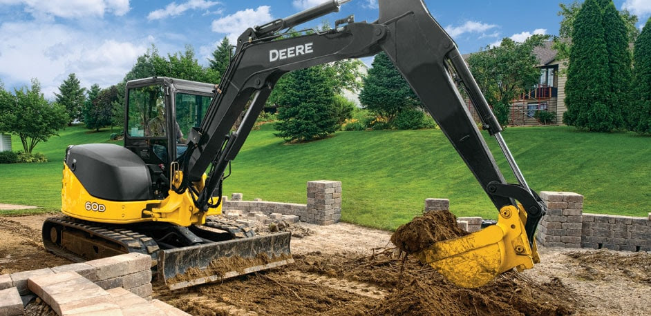 Compact Excavators from John Deere