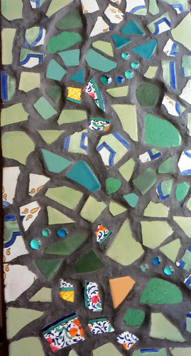 mosaics in my house that I made