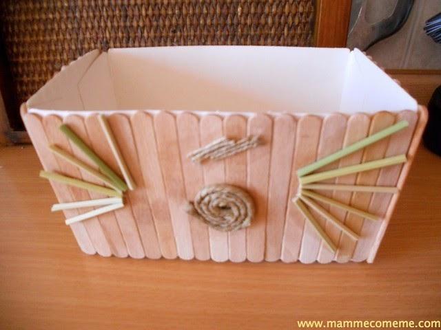 Mamme come me la scatola ecologica for Rivestire una scatola