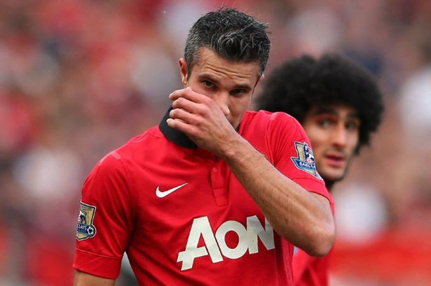 Van Persie has been out injured for the past number of weeks