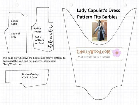 Old Pattern Page ? Free Doll Clothes Patterns