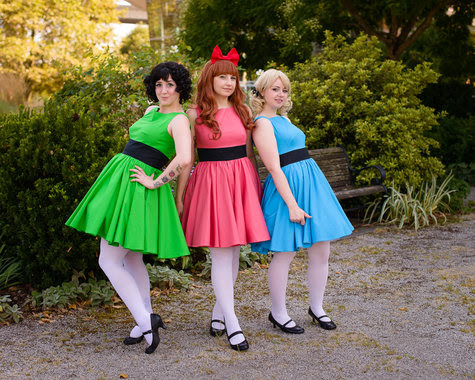 28 Cosplayer Picture: Powerpuff Girls Cosplay Sewing ...