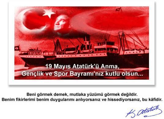 19 Mayıs Atatürkü Anma Gençlik Ve Spor Bayramı Kutlu Olsun Arena