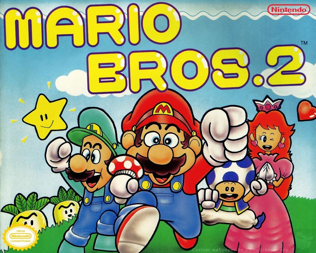Super Mario Brothers 2 Super Mario Bros Wallpaper 5446454