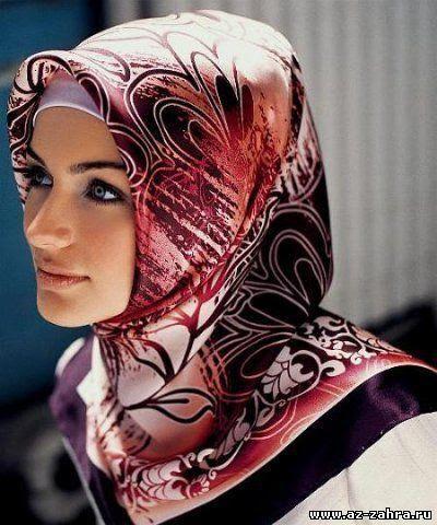 как носить платок на голове мусульманке