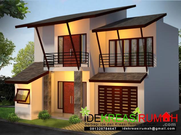 Desain Rumah Dengan Model Atap Anti Bocor Ide Kreasi Rumah