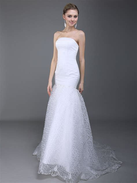 Simple Mermaid Wedding Dresses 2013   Fashion Trends