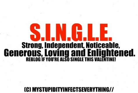 Single And Proud Quotes Tumblr
