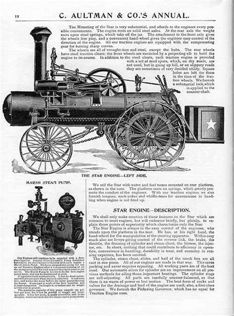 Gas Engine Magazine - C. AULTMAN & CO. THRESHERS AND