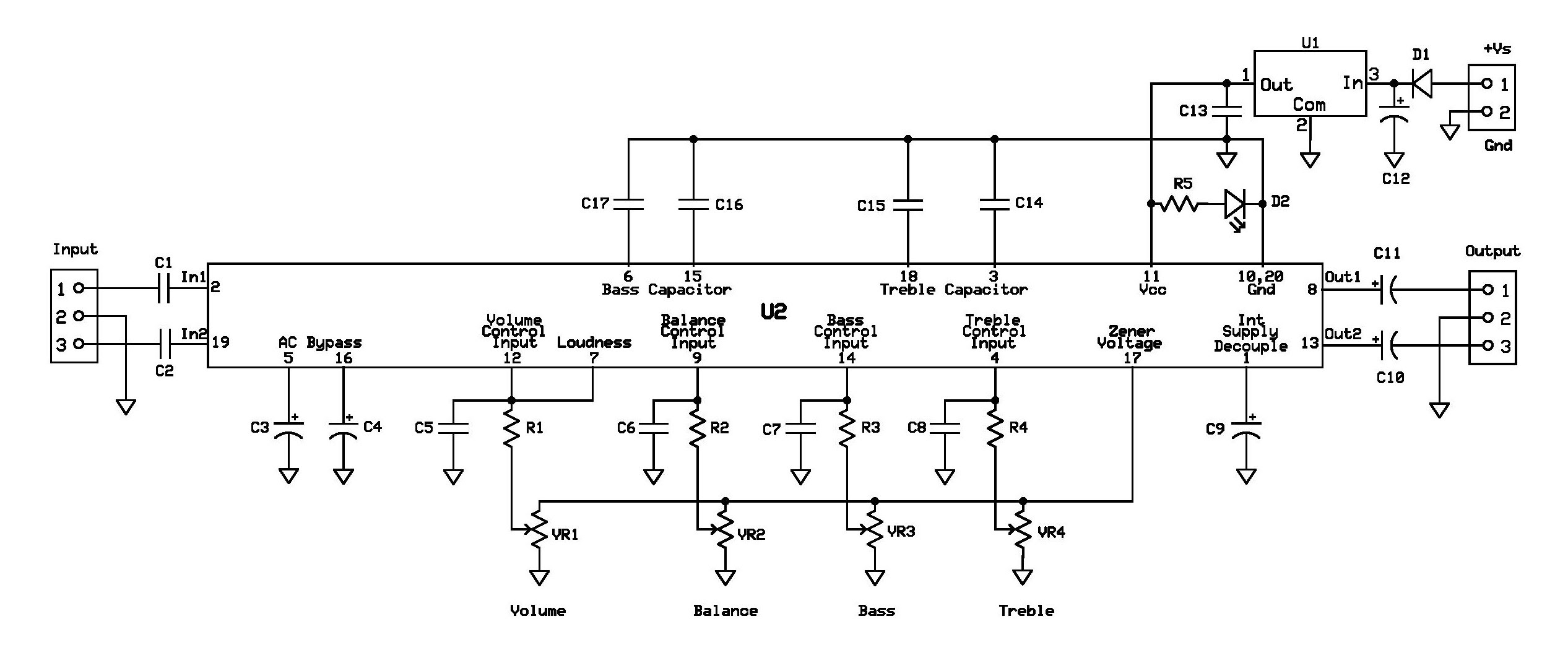 Layout Tone Control Lm1036 Circuit Diagram Images Treble Project7 Schematic Page 001