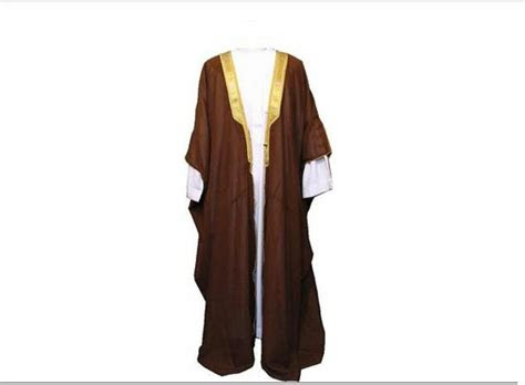 brown bisht cloak arab dress thobe saudi mens robe eid
