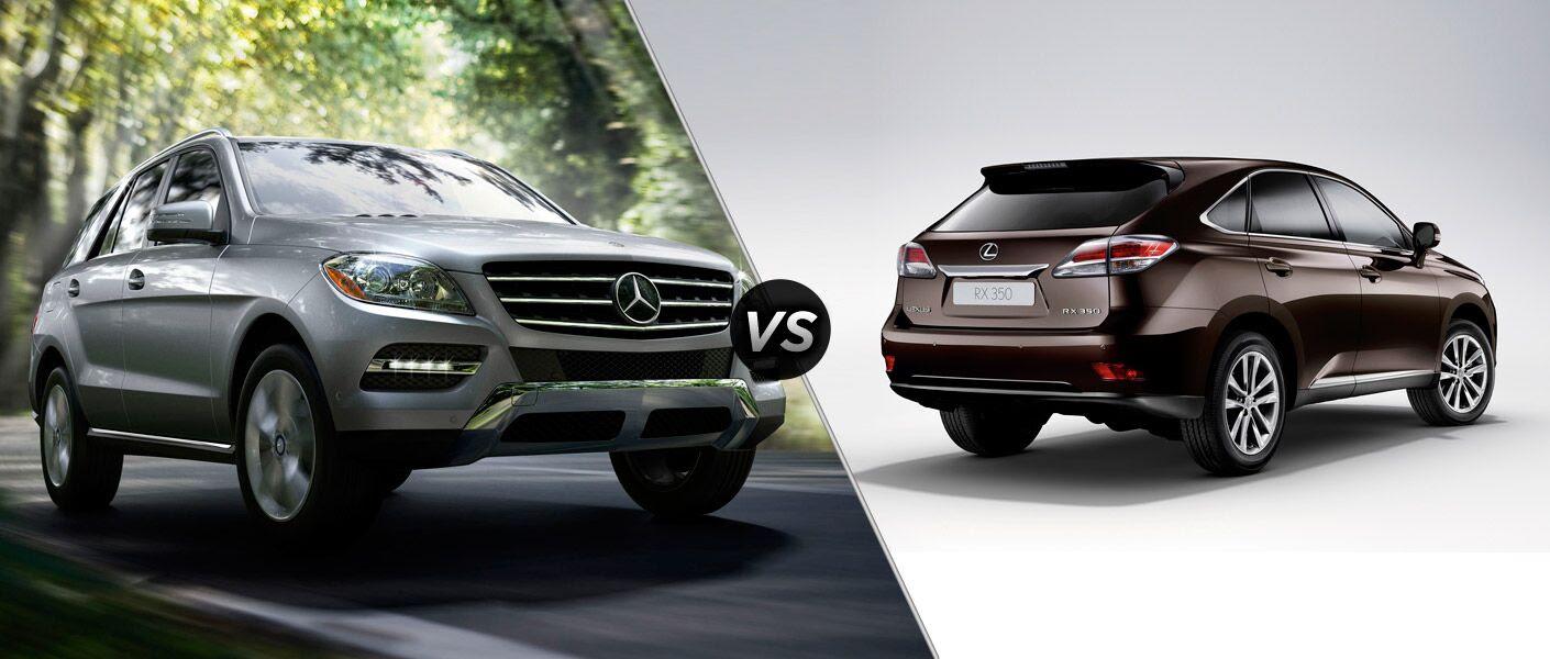 2014 Mercedes-Benz ML350 4MATIC vs Lexus RX350