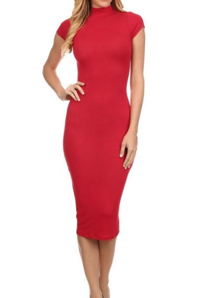 Shopping Neck Block Dresses Bodycon V Zipper Deep Color business spring fashion