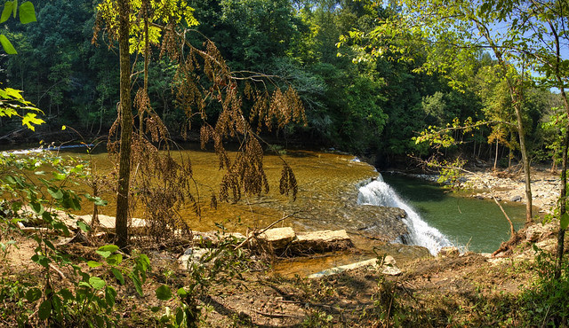 Waterloo Falls, Overton Co, TN