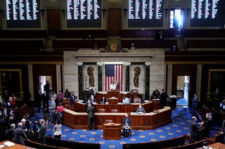 The House lifts its mask mandate for fully vaccinated individuals.