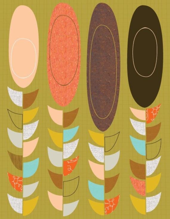 Giclee Print (item No. P-2010-13) Petals and pods