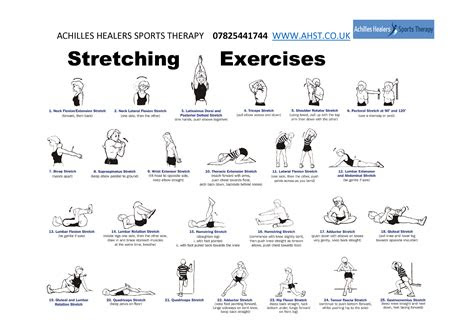 exercises stretches achilles healers sports therapy