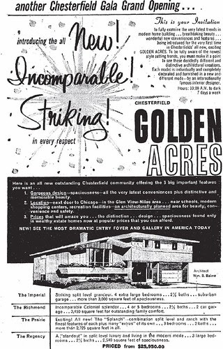 chesterfield builders golden acres opening ad