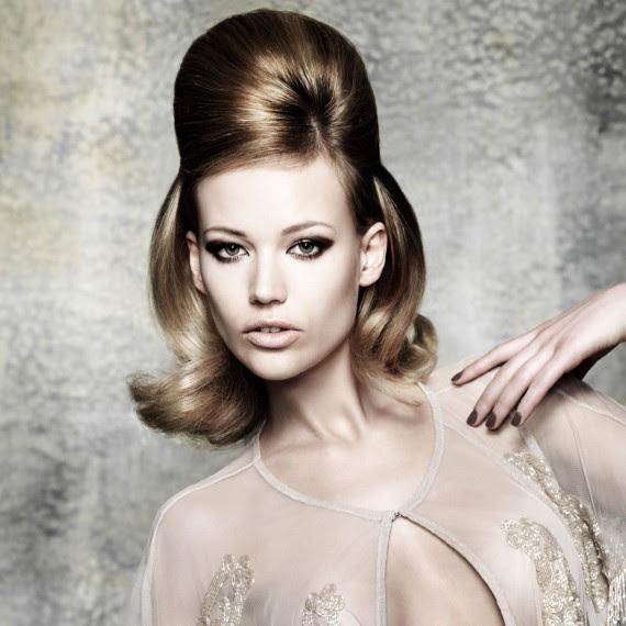 Beehive hairstyle Elegant Christmas Hairstyle Ideas