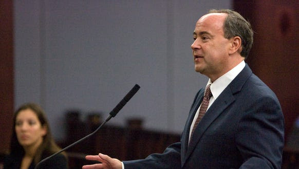 The Goldwater Institute's Clint Bolick arguing at the