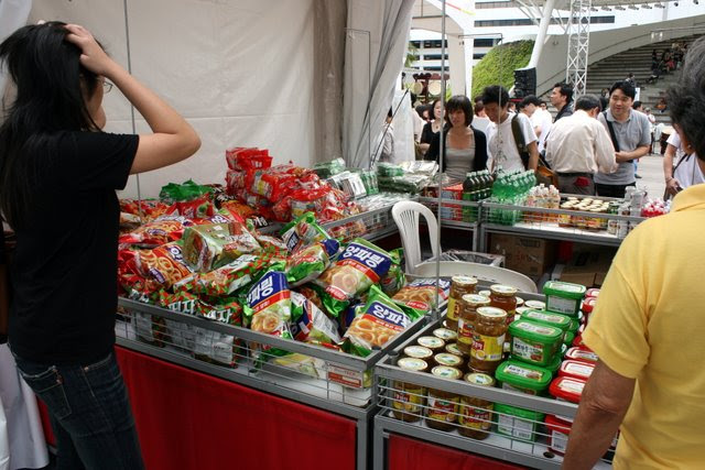 Korean food and drink products