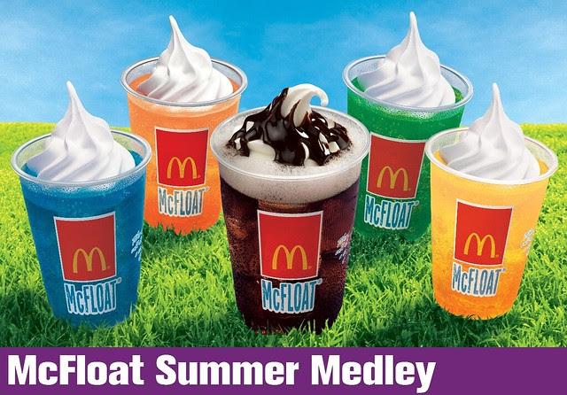 McFloat Summer Medley