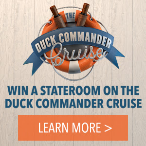 Duck Cruise Sweepstakes - win a stateroom on the duck commander cruise