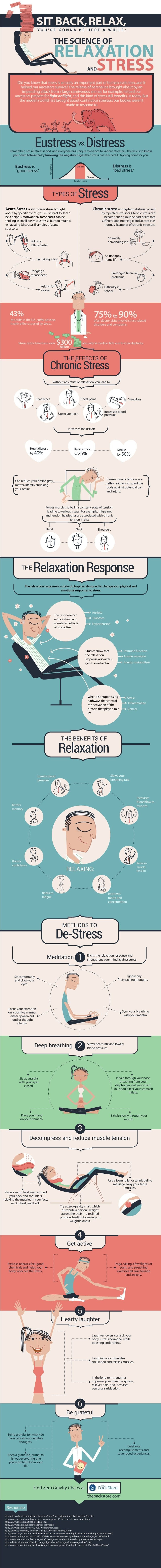 Infographic: The Science of Relaxation and Stress