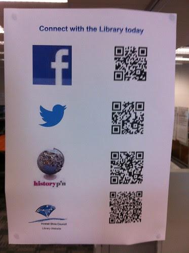 Social media at Inverell Library by ellen forsyth