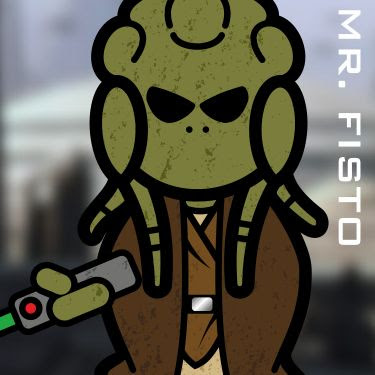Mr. Kit Fisto. A Jedi.