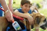 Photo: Child, pet and mosquitoe repellent
