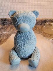 """Me to You"" teddy bear cake"