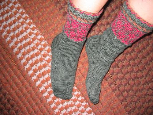 Canada Socks finished!