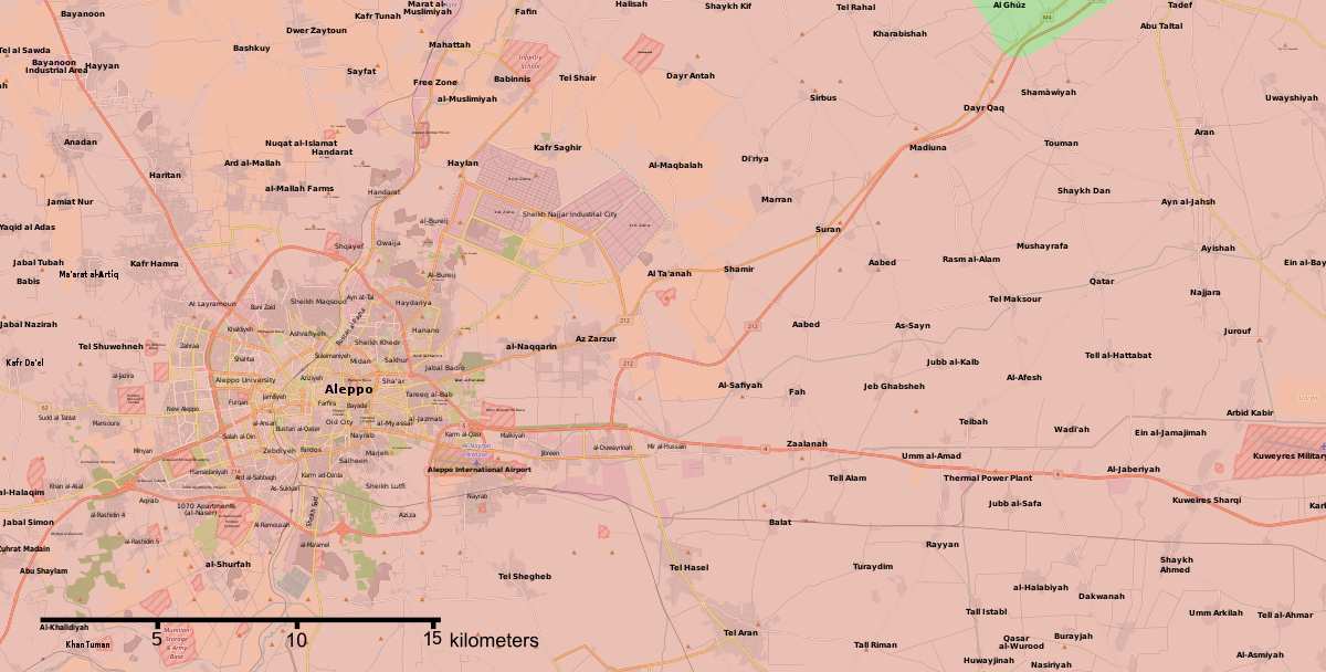 Cities And Towns During The Syrian Civil War Wikipedia