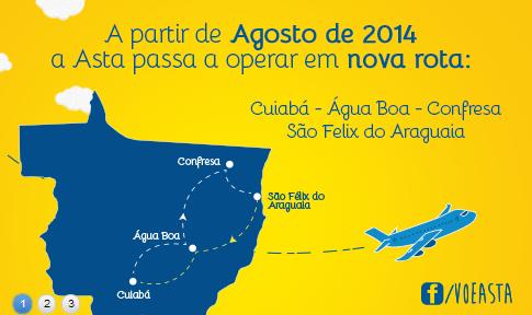 3 cidades do Araguaia ganham voos interligados; Barra não está na lista