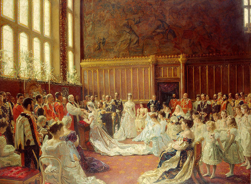 File:The Marriage of George, Duke of York to Princess Mary of Teck.JPG
