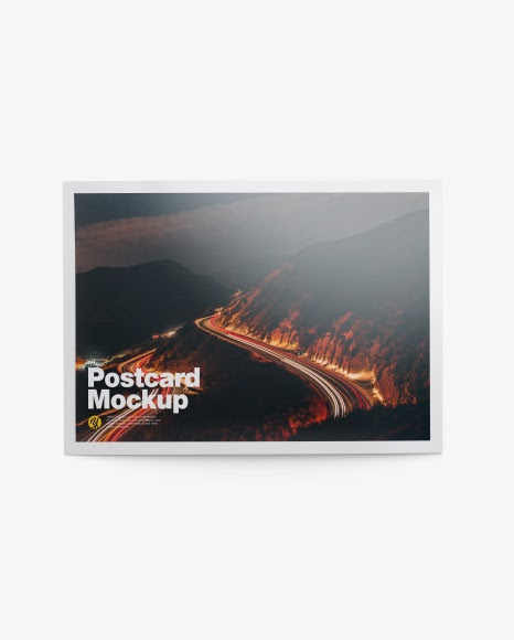 Download Download Glossy A5 Postcard Mockup free packaging mockups from the trusted websites.