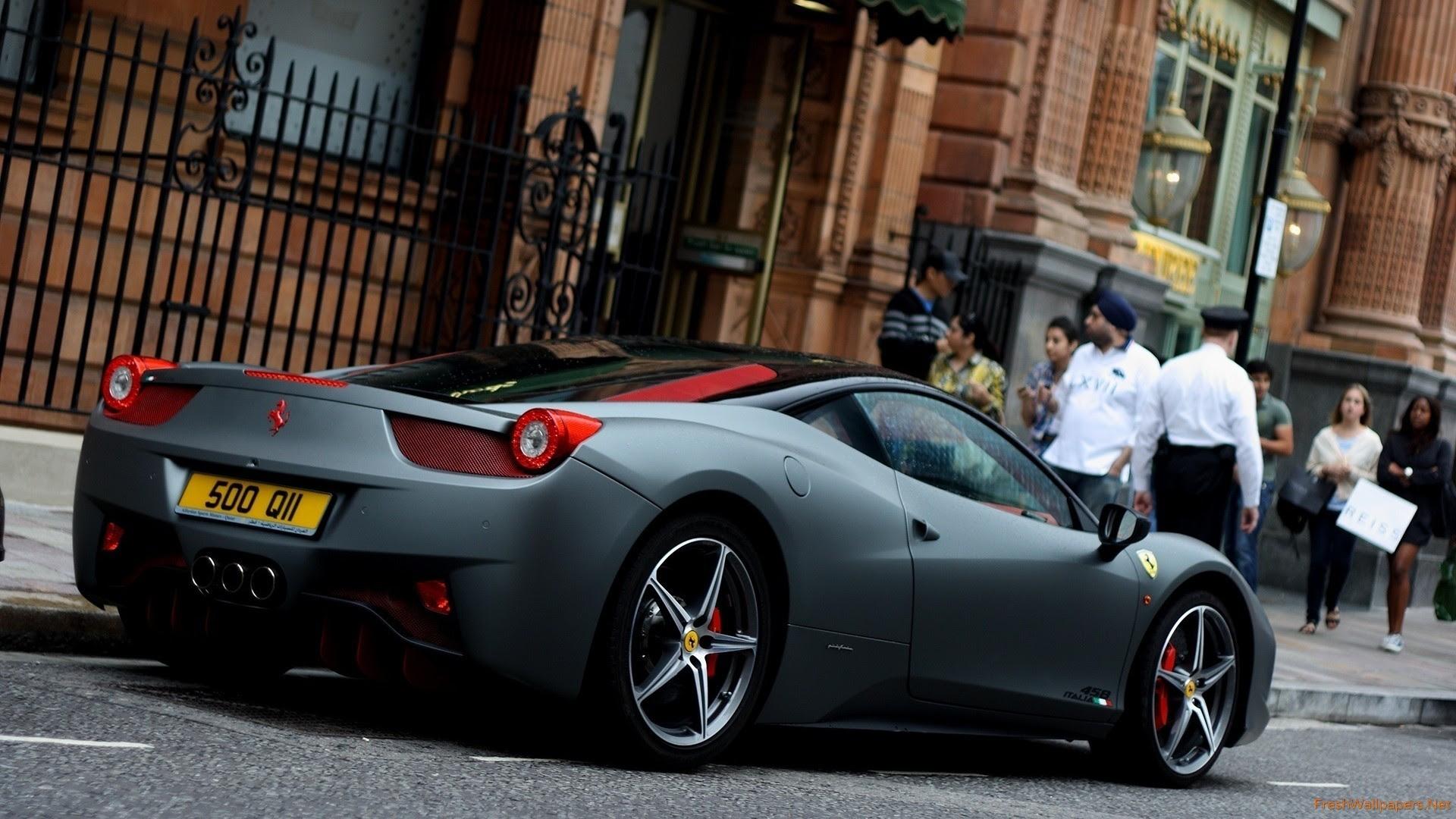 Black Ferrari Wallpaper 59 Images