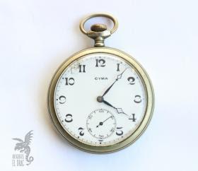 Antiguo Reloj De Bolsillo Cyma Relojes Antiguos Antigüedad